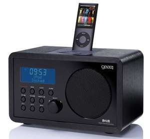 Gear4 KRG-D50 DAB Radio With iPod  Dock  Only £17.99 delivered @ HMV