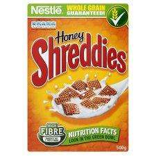 500g Honey Shreddies for £1.09  @ Tesco / Asda / Sainsburys - voucher in post