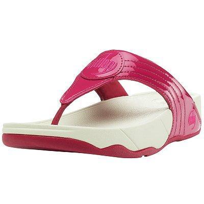 FitFlop Walkstar 3 Patent Sandals - John Lewis - £30