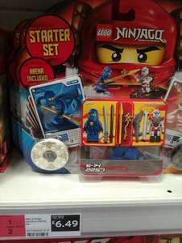 LEGO Ninjago Spinjitsu Starter Set (2257). Now HALF PRICE at Sainsburys £6.49 (instore)
