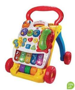 VTech First Steps Baby Walker - £21.59 @ Mothercare
