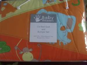 Baby Weavers Cot Bedding Set Now Half Price @ Only £13.50 @ Morrisons