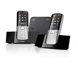 Seimens Gigaset SL400 Twin pack @ Currys £135.99 with code + 3% cashback too