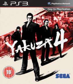 Yakuza 4 (PS3) (Brand new) @ Gamestation online for £9.89 use code.