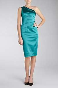 Jocasta One Shoulder Dress (Jade) £49 @ Coast