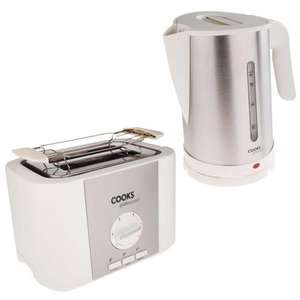 Stainless Steel 2200w Kettle & Toaster Breakfast Set - £19.99 Delivered @ eBay Ocean Tree Trading Outlet