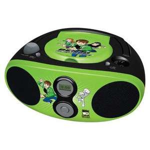 Ben 10 Boombox (CD Player / Radio) £34.99 instore £39.99 delivered @  Toys R Us