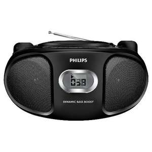 Phillips CD Player/ Boombox - £9 delivered to store @ Tesco