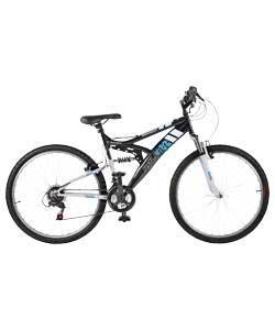 Raleigh 26 inch Mission Dual Suspension Mountain Bike £74.99 @  Argos