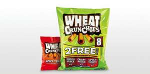 Wheat Crunchies Multipack 8 Pack at ALDI only 89p!