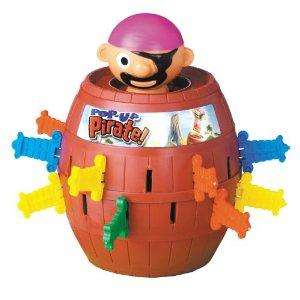 Tomy pop up pirate game £4.98 at amazon