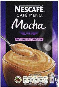 Nescafe Double Choca Mocha 8 Sachets 184G was £2.98 now (BOGOF) @ Tesco