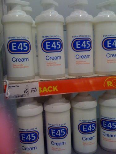 E45 500ML Large Pump action cream  @ Asda £5