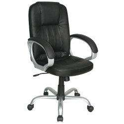 Thames leather faced highback executive office chair £35.99 (Possible ONLY £33.47 with 7% Quidco) + FREE DELIVERY @ VIKING DIRECT