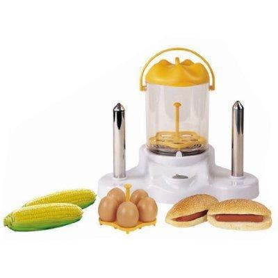 Hot Dog Maker / Popcorn Maker / Electric Egg Boiler / Steamer - Gadget. £14.99 Delivered @ Amazon, Sold by Electro World