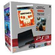 Sony PS3 Slim Console: 320GB + Resistance 3 (PS3) + Battle: Los Angeles (Blu-ray) - £214.99 @ Tesco Direct