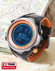 Lidl LCD Sports Watch, altimeter, compass etc. - £19.99 @ LIDL