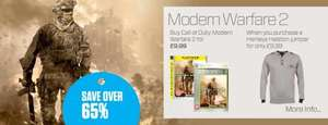 Buy a Henleys Helston Jumper OR 2 Pack Henleys Boxers for £9.99 & Get MW2 on PS3 or Xbox 360 for £9.99 @ The Hut