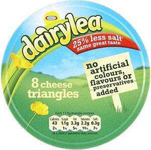 Morrisons Instore - Dairylea Chhese Triangles 8 pack (140gr) ONLY 49P