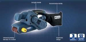 Power craft belt sander - 950w @ ALDI for £19.99