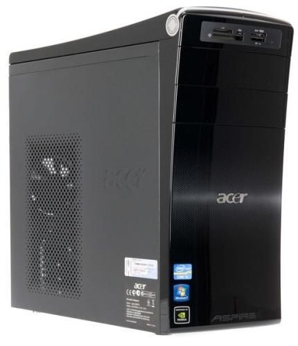 Acer Aspire M3970 i5 2300(2.8Ghz) | 1TB | 4GB | 1GB nVidia 405 | HDMI | DVI | Win 7 Home Premium | Free Del £399.99 @ Ebuyer