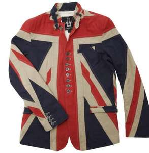 "UNION JACK JACKET (as worn by ""The Hoff"") usually £349.99. only £295.00 at Rhino GB"