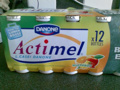 danone actimel, £2 @asda (12 pack) HALF PRICE