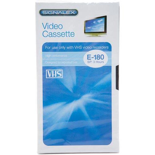 3hr Blank VHS Tapes - £1.00 @ Poundland (Instore)