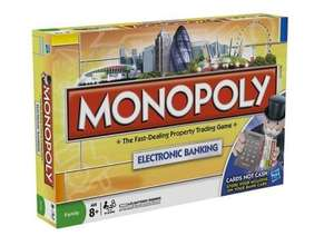Monopoly Electronic Banking - Cards Not Cash! @ Tesco Instore £6.24