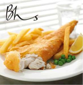 BHS Free Fish and Chips on Mondays