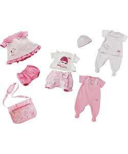 Baby Annabell Changing Bag & 4 Piece Clothing Set - Argos (3 for 2 Deals)
