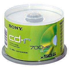 Sony CD-R Blank Disks (50 Pack) - £6.49 @ Sainsburys