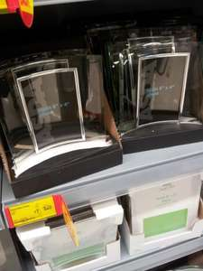 Asda curved glass photo frame - £1 @ asda instore