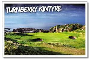 2 Free rounds of golf at The Dukes (St Andrews) and Turnberry with Bunkered Golf Magazine Subscription £34