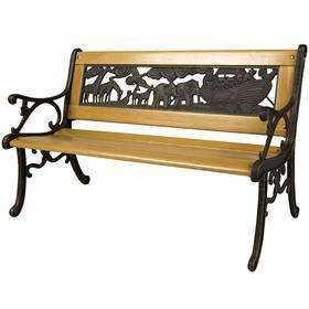 Childrens Noah's Ark Wooden Bench Reduced to £30 INSTORE @ Dobbies