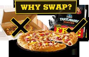 Chicago Town Pizza FREE by coupon redemption