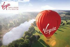 One Hour Hot Air Balloon Flight With Champagnepon Toast for £99 with Virgin Balloon Flights @Groupon