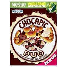 Nestle Chocapic Duo 325G x 2 for £2.19 at Tesco