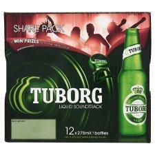 Tuborg Lager - 12 x 275ml Bottles for £5.00 at Tesco