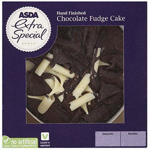 Asda's Extra Special Chocolate Fudge Cake. Instore £1.50!!