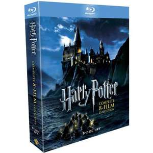 Harry Potter The Complete Collection Years 1-7 [Blu-Ray] £32.30 with code @ Tesco Entertainment