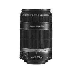 Canon EF-S 55-250mm f/4-5.6 IS Telephoto Zoom AF Lens for Digital SLR - £144 @ Amazon