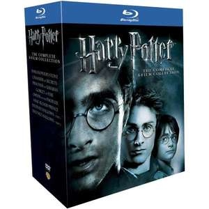 Harry Potter - The Complete 8 Film Collection Blu Ray - £32.30 @ Amazon
