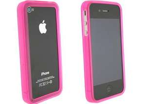 iPhone 4 Bumper Cases (Black / Pink / Blue / Clear) - 99p Delivered @ eBay Pixmania Outlet