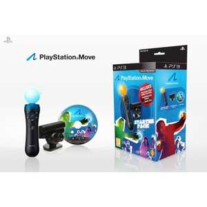 Playstation Move Starter Pack - £27.95 (Using Code) @ Playstation Rewards