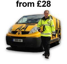AA Breakdown Cover - £28 + £19 Quidco Cashback = £9