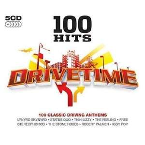 100 Hits - Drive Time [5CD] (C/D) for £2.99 @ Choices UK