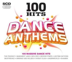 100 Hits - Dance Anthems [5CD] (C/D) for £2.99 @ Choices UK