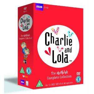 Charlie and Lola Absolutely Complete Collection (DVD) - £12.99 delivered @ Amazon