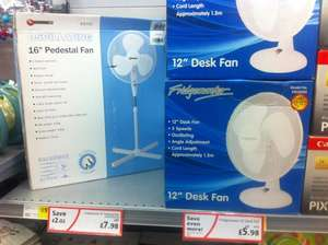 "12"" Desk Fan - £5.98 @ Morrisons (Instore)"